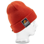 BBCOPOL002, BBCo, Essentials Beanie, Red, Fisherman Beanie | Knitted Hat