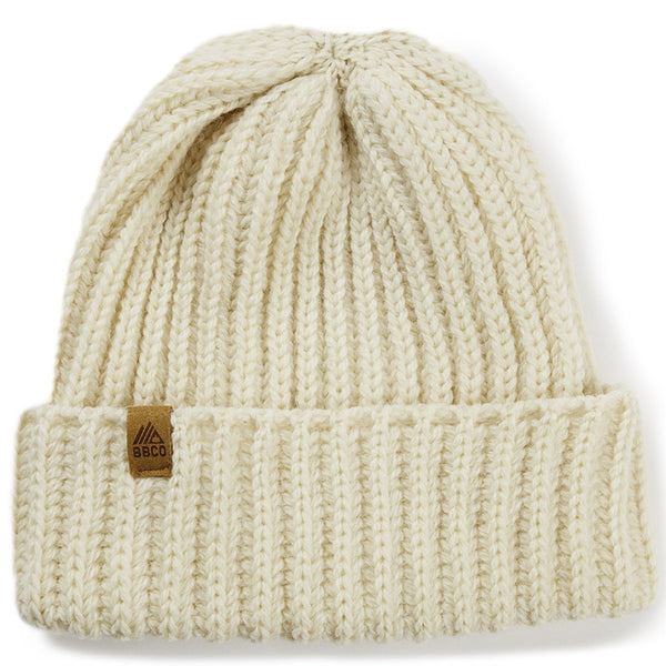 BBCOFIS002, BBCo, Fistral Beanie, Natural, Fisherman Beanie | Knitted Hat