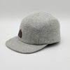 Wool 5 Panel Cap BBCo BBCOGMC01 Caps & Hats One Size / Grey Marle