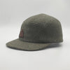 BBCOHBC002, BBCo, Tweed Wool Cap, Heath Brown, 5 Panel Cap | Wool Cap