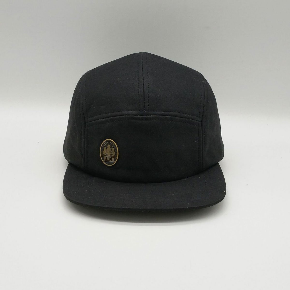 BBCo Headwear | The Lincoln Wax Cap | 5 Panel Cap | Waxed Cotton