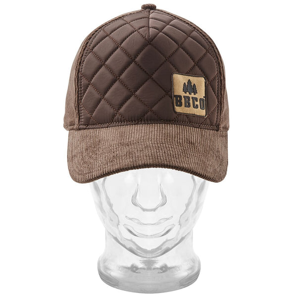 Ranger Padded Cap BBCo BBCORABR01 Caps & Hats One Size / Brown