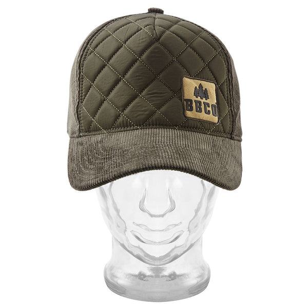 Ranger Padded Cap BBCo BBCORAGR02 Caps & Hats One Size / Olive