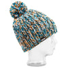 BBCOTTM003, BBCo, Tide Teller Beanie, Multi-colour, Chunky Knit Wool | Ski Bobble Hat