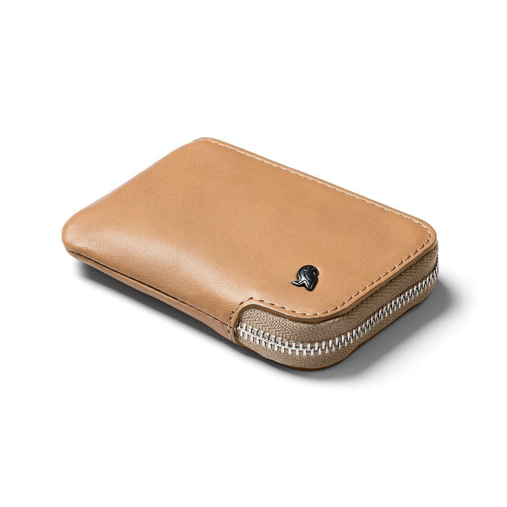 Bellroy | Card Pocket | Wallet With Coin Pocket | Zip Around Wallet, WCPA-TAN-101, Tan