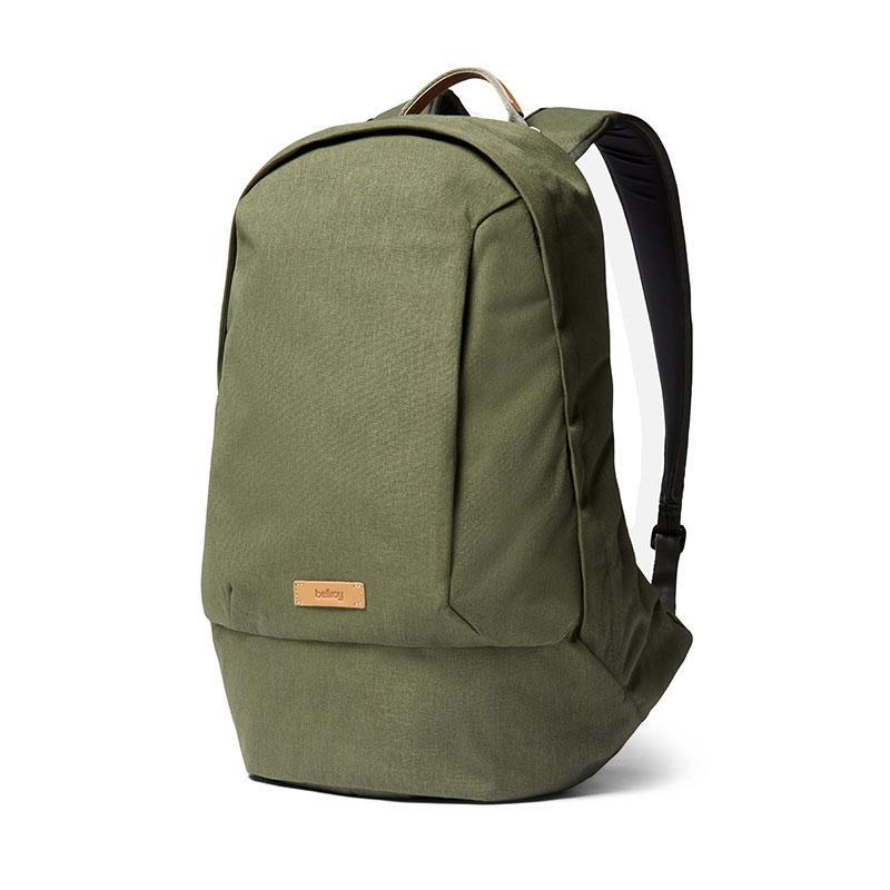 Bellroy | Classic Backpack | Stylish Laptop Backpack | Urban Backpack, BCBB-OLI-206, Olive