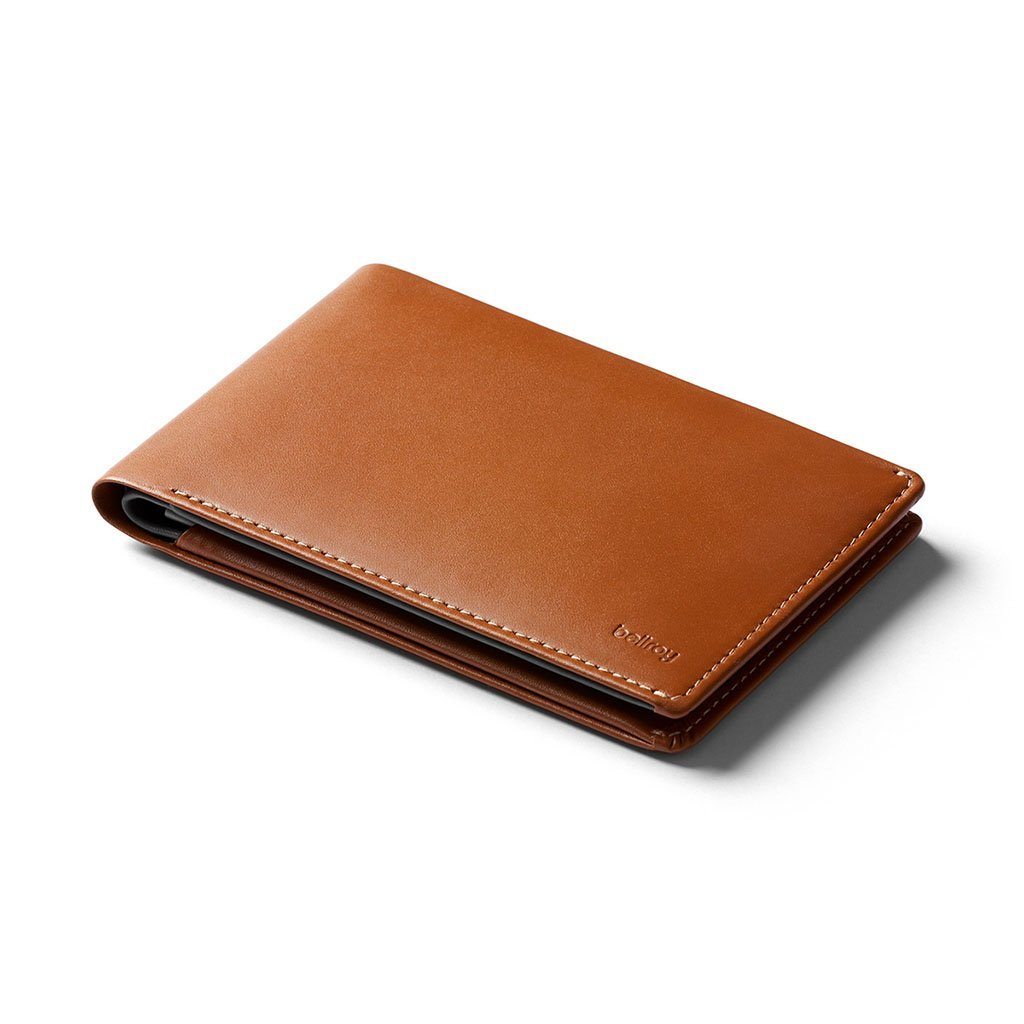 Bellroy | Travel Wallet RFID | RFID Passport Holder | Passport Wallet, WTRB-CAR-301, Caramel