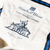 1IN/USNXS, Black & Blue 1871, USA 1912 Away Rugby Shirt, Navy, Vintage, Classic Rugby Shirt