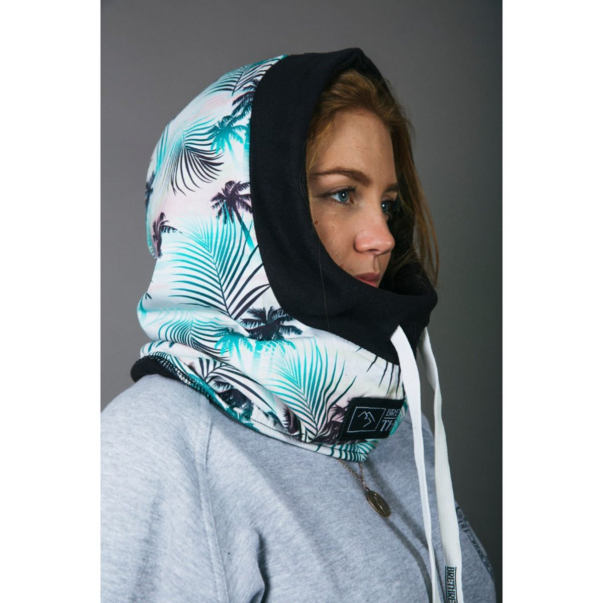 5060615530144, Brethren, Summer Escape Thug Rug, White, Snowboard Hood | Ski Face Mask