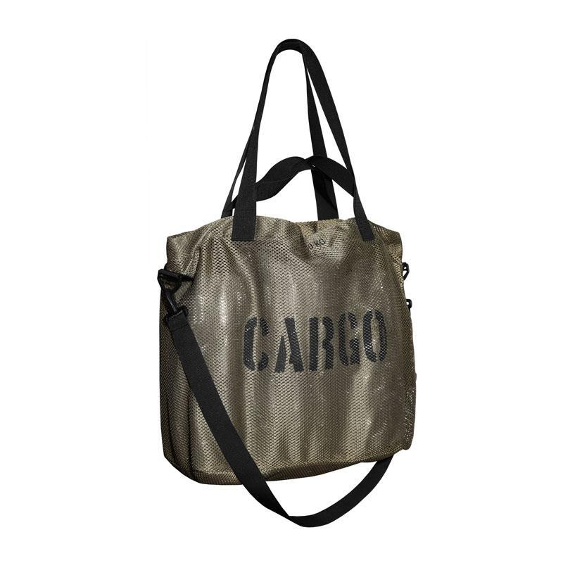 CARGO by OWEE | Mesh Tote Bag | Large Beach, Shopping, Outdoor Gear Bag - Olive