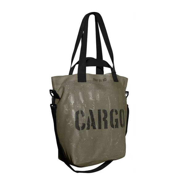 CARGO by OWEE | Mesh Tote Bag | Beach, Shopping, Outdoor Gear Bag - Olive