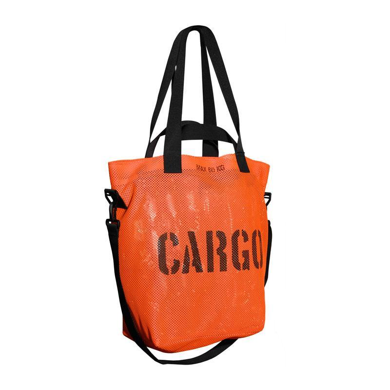 CARGO by OWEE | Mesh Tote Bag | Beach, Shopping, Outdoor Gear Bag - Orange