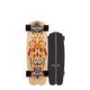 "C7 Raw 28.25"" Spectra Complete Carver Skateboards C1013011071 Skateboards 28.25"" / Black/Orange/Natural"