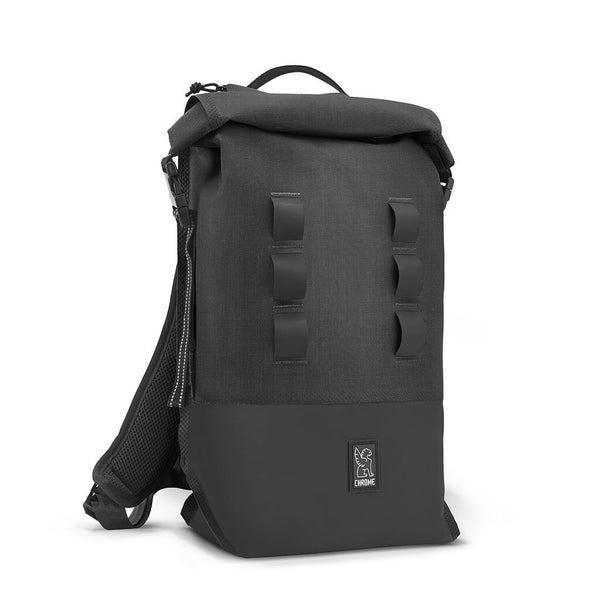Urban Ex Rolltop 18L Backpack Chrome Industries BG-217-BKBK Bags - Backpacks 18 L / Black / Black