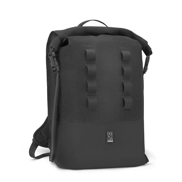 Urban Ex Rolltop 28L Backpack Chrome Industries BG-218-BKBK Bags - Backpacks 28 L / Black / Black