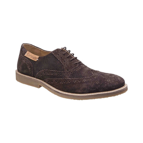 Cotswold  Chatsworth Suede Wingtip Shoes - Mens  Lace Mens Shoes