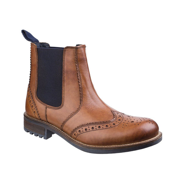 Cirencester Chelsea Brogue - Men's Cotswold Boots