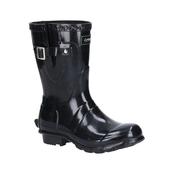 Windsor Gloss Short Wellington Boot Cotswold Wellingtons