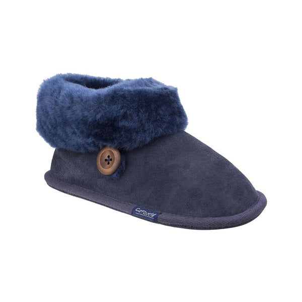 Wotton Sheepskin Bootie - Women's Cotswold Slippers
