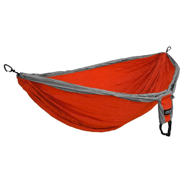DoubleNest Hammock ENO DH006 Hammocks Double / Orange/Grey