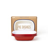 Pie Dishes (Set of 4) Falcon Enamelware FAL-DIS-RR-UK Pie Dishes (Set of 4) 20 cm / Pillarbox Red