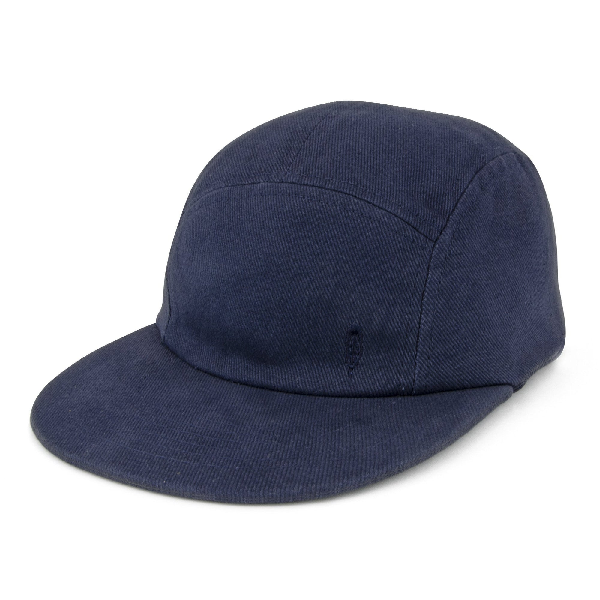 FIDIR » Mens 5 Panel Hat - Five Panel Cap - Blue 5 Panel Cap