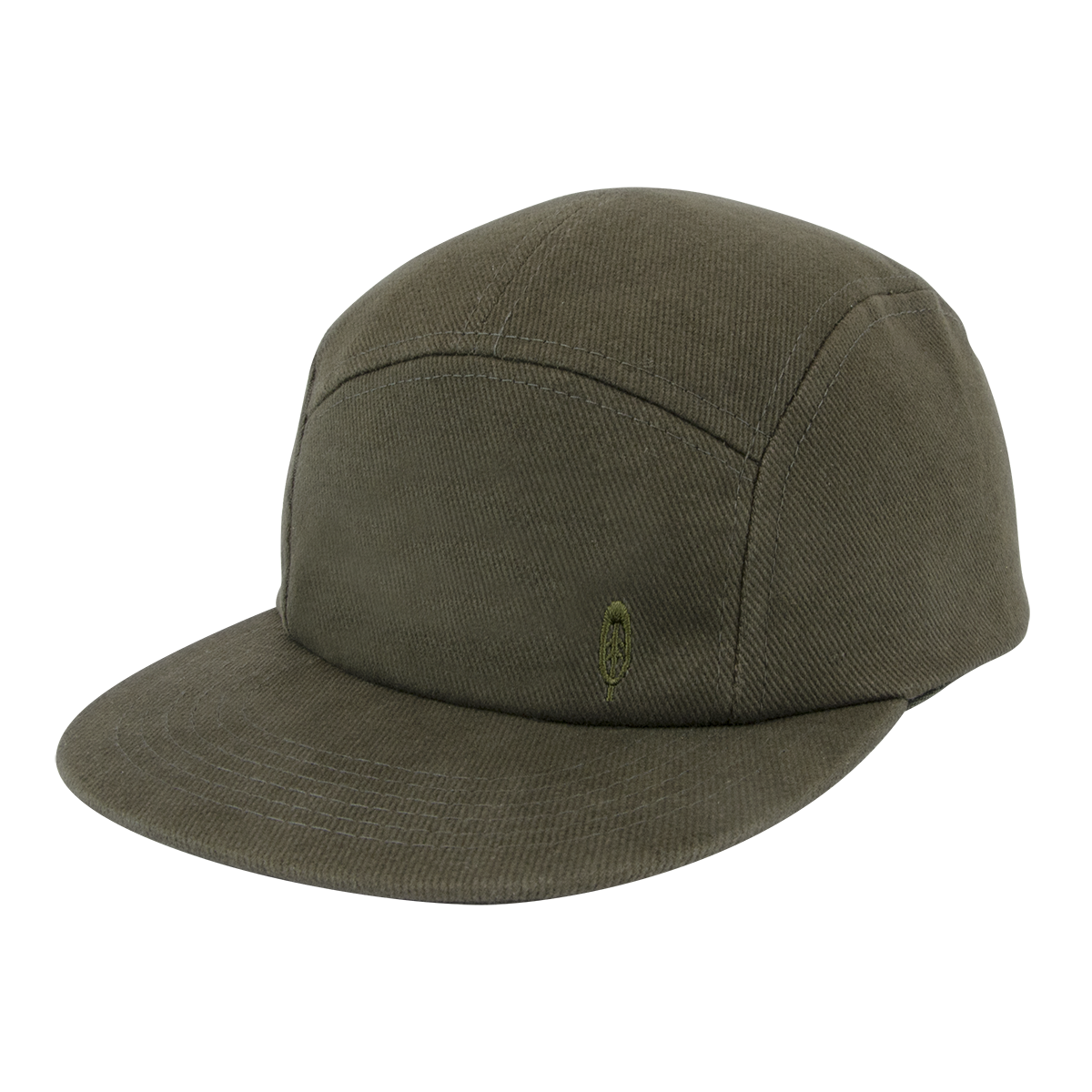 FIDIR » Mens 5 Panel Hat - Five Panel Cap - Green 5 Panel Cap