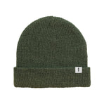 FIDIR » Wool Beanie - Mens Winter Beanie - Green Beanie