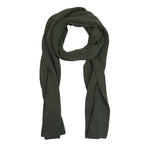 FIDIR » Mens Wool Scarf - Merino Wool Scarf - Mens Green Scarf