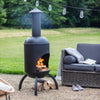 Sarsden Chiminea Garden Trading FPST04 Firepits One Size / Metal