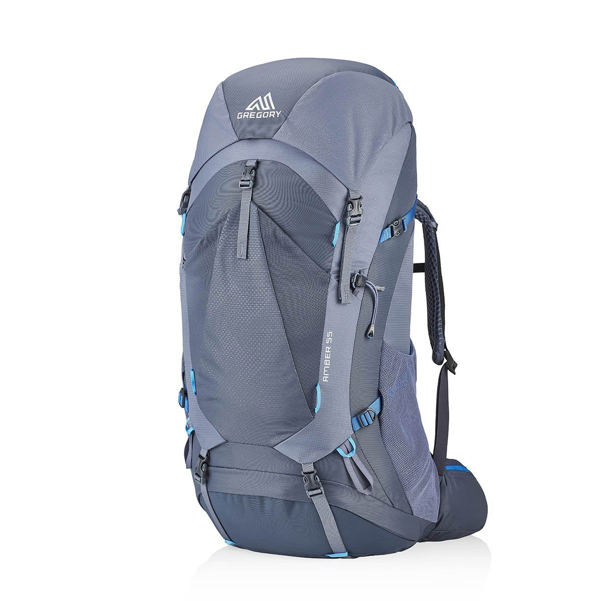 G126877-8319, Gregory, Amber Backpack 55, Arctic Grey, Outdoor Backpack | Hiking Backpack