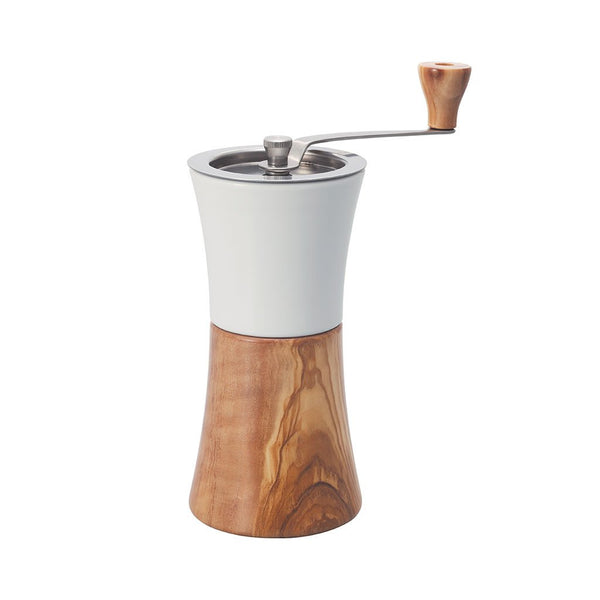 Ceramic Coffee Mill Wood Hario MCW-2-OV Grinders One Size / Brown/White