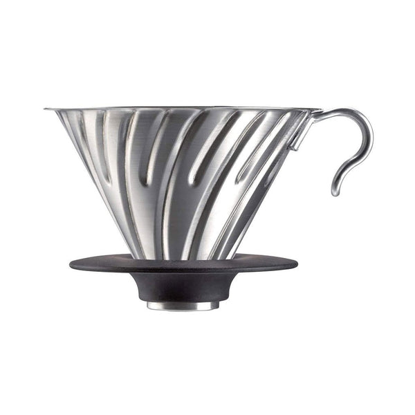 V60 Metal Coffee Dripper 02 Hario VDM-02HSV Drippers 02 / Silver