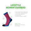 Horizon Socks » Leisure Lifestyle Women's Bamboo Socks