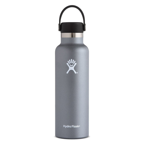 Hydro Flask - 21 oz Standard Mouth » Insulated Water Bottle - Graphite