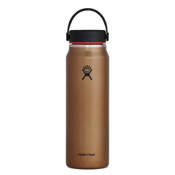 32 oz Lightweight Wide Mouth Hydro Flask LW32LW082 Water Bottles One Size / Clay