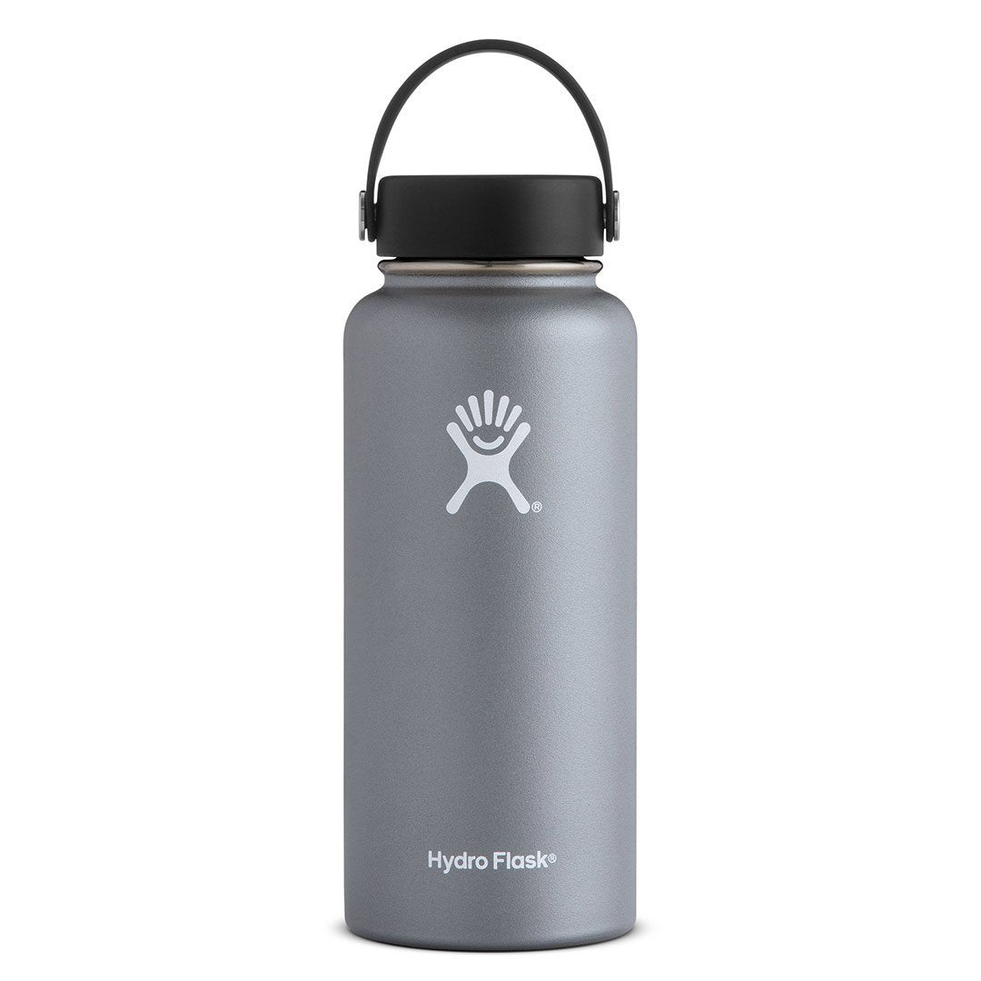Hydro Flask - 32 oz Wide Mouth » Insulated Water Bottle - Graphite