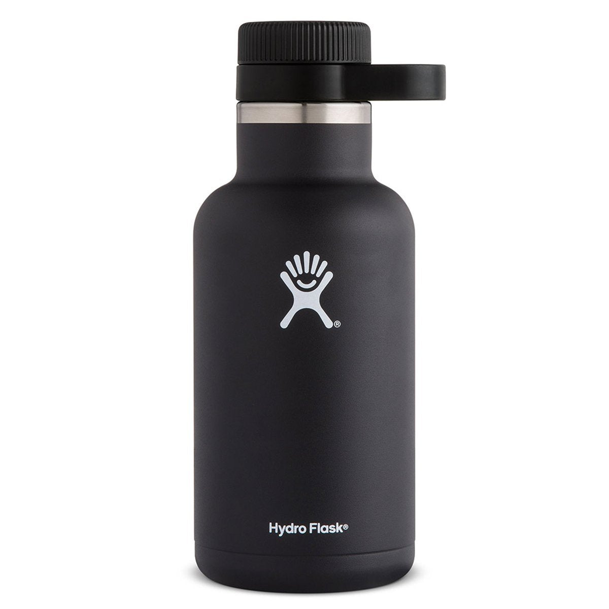 Hydro Flask - 64 oz Growler » Insulated, Stainless Steel Beer Growler - Black