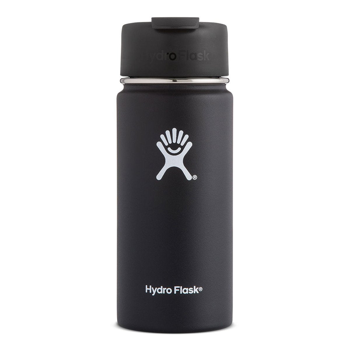 Hydro Flask - Coffee Flask 16 oz - Tea Flask, Vacuum Flask - Black