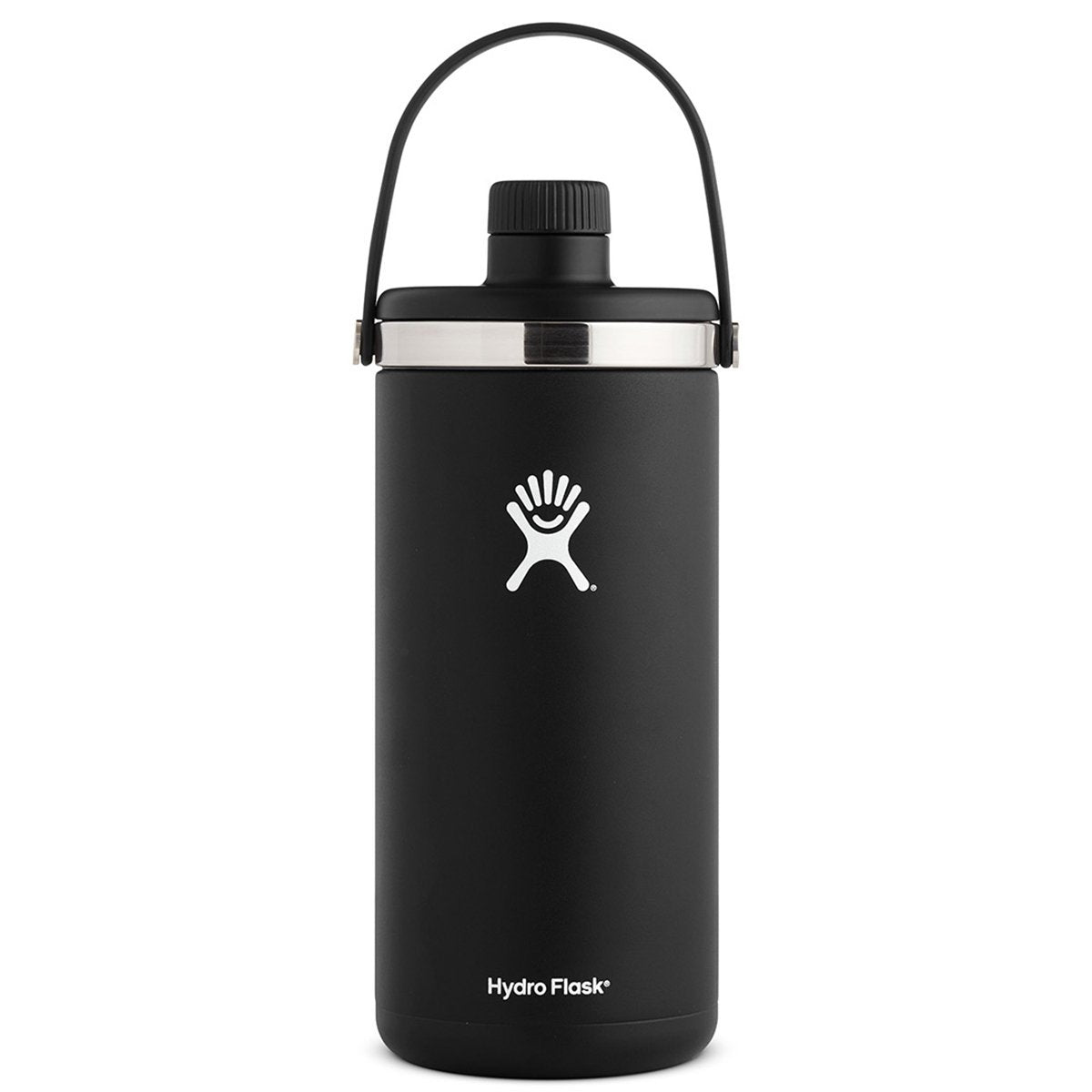 Hydro Flask - Oasis 128oz » Insulated Food Container, Large Food Flask - Black