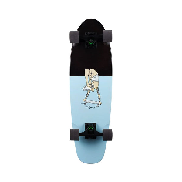 Dinghy Handstand Landyachtz DING-HND Skateboards 29 inch / Blue / Black