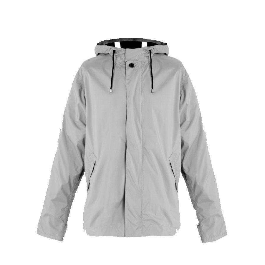 Meander | Meander Jacket | Waterproof Breathable Unisex Cycling Jacket | Grey