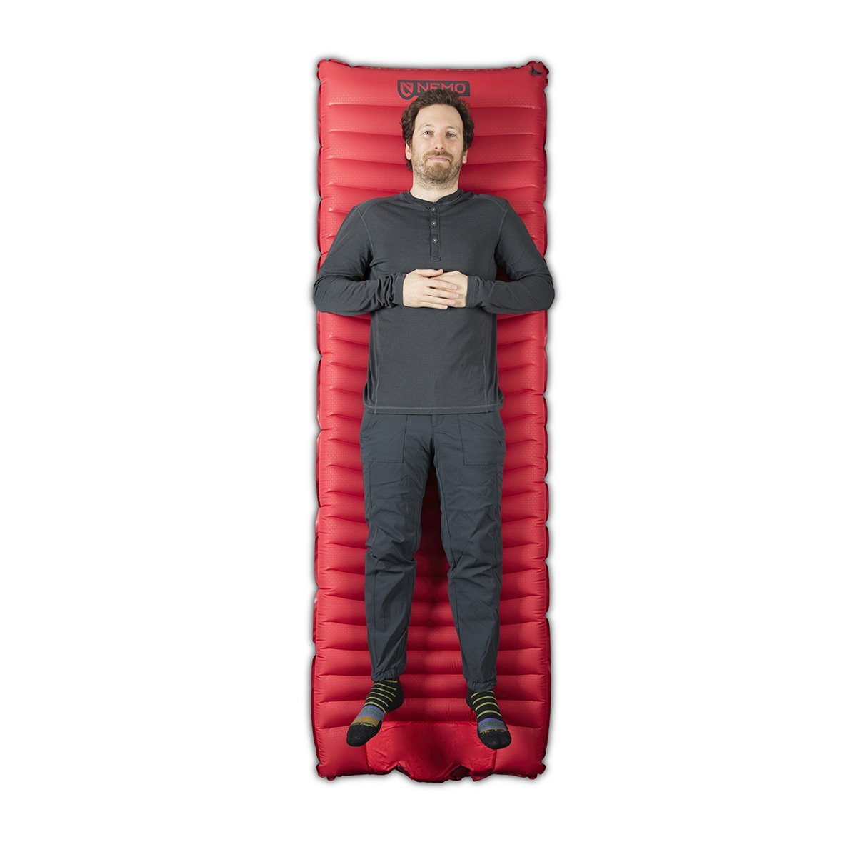 Cosmo 3D Sleeping Pad + Foot Pump