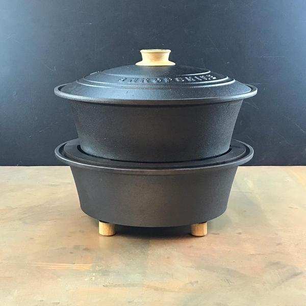 Cast Iron Outdoor Hob and Slow Cooker