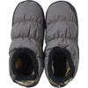 109090-S, Nordisk, Hermod Down Shoes, Grey, Camping Slippers | Insulated Shoes