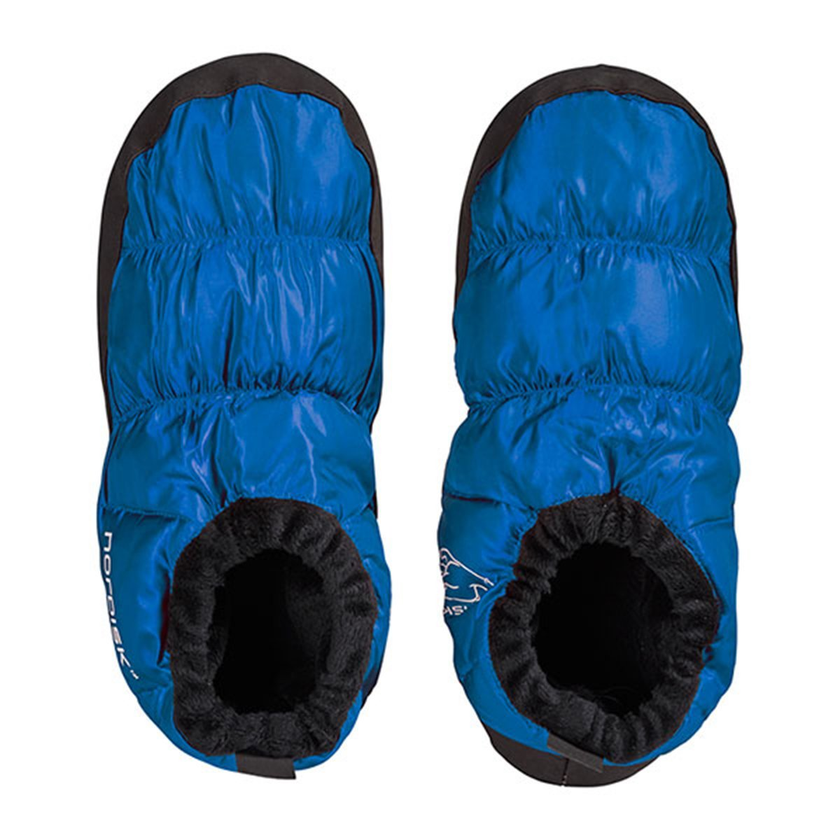 Nordisk Slippers | Down Slippers | Nordisk Mos Down Shoes - Blue