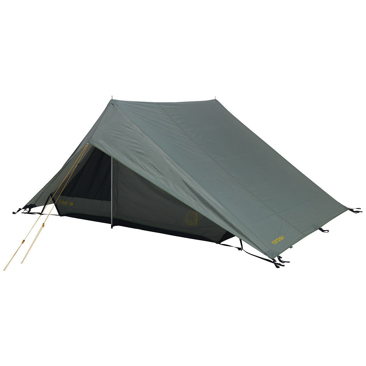 Nordisk | Faxe 3 PU | 3 Man Ridge Tent | Classic 3 Person Tent | Dusty Green
