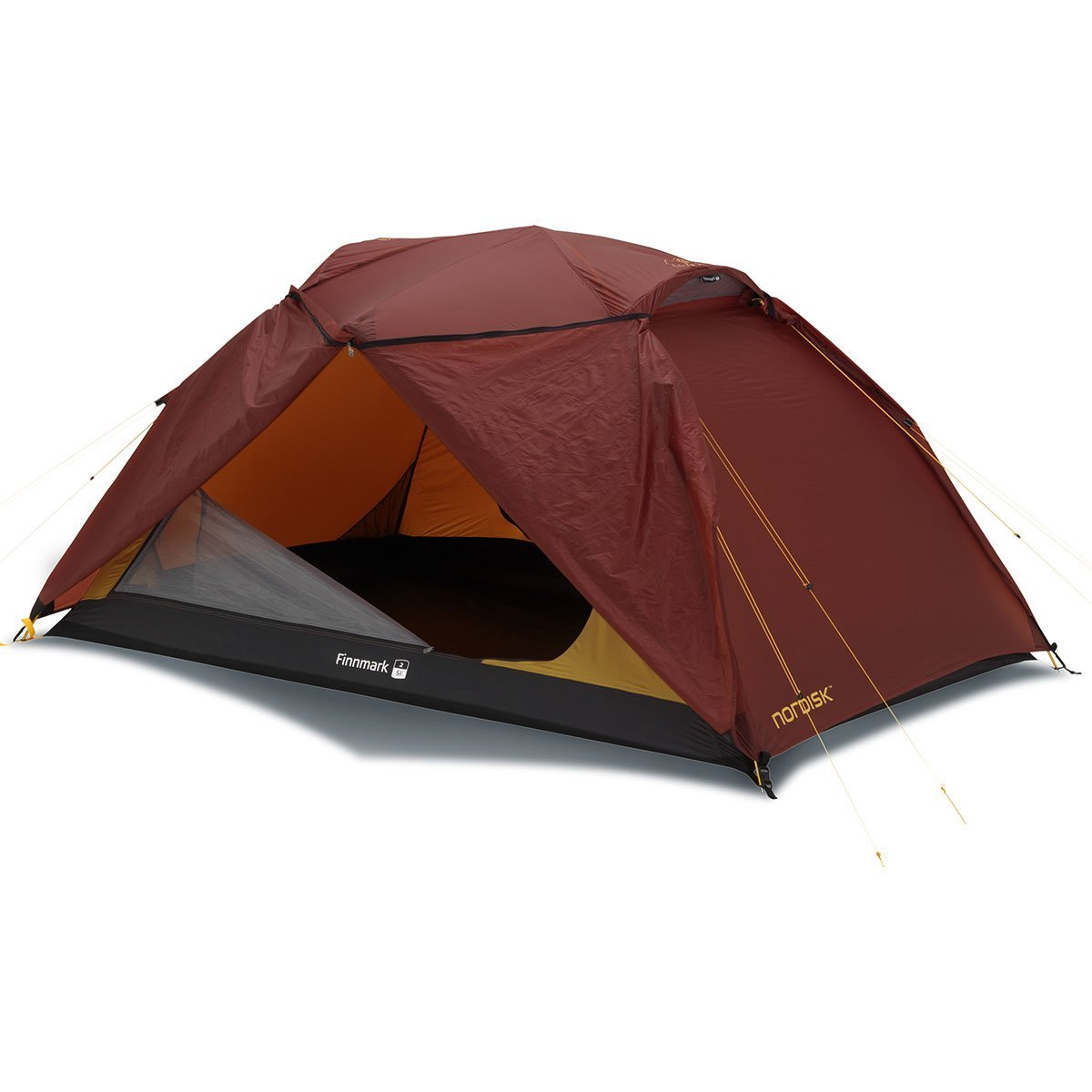 Nordisk | Finnmark 2 SI | 2 Man Dome Tent | Waterproof Dome Tent | Burnt Red