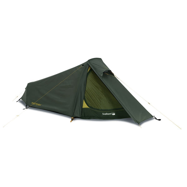 Nordisk | Svalbard 1 SI | Lightweight One Man Tent | All Weather Tent | Forest Green