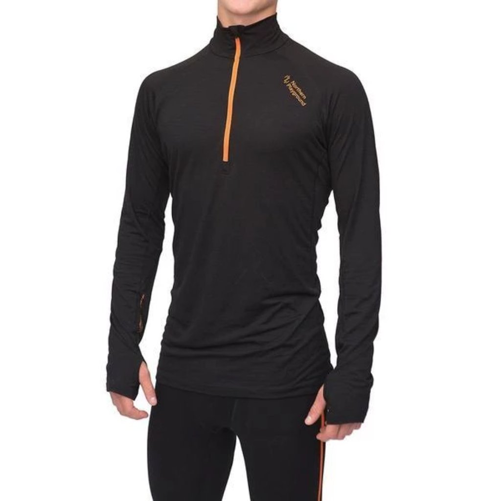 Northern Playground Zipwear - Zipneck Wool - Mens thermal base layer
